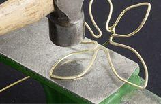 Brass flower ring 6