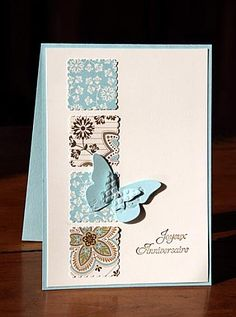 Beautiful Wings Embosslits/Postage Stamp
