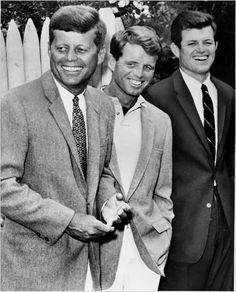 John, Bobby & Ted Kennedy