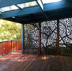 Install Outdoor Screens and Enjoy Privacy decorative outdoor screens screening on pergola roof panels brisbane . Small Pergola, Pergola Attached To House, Pergola With Roof, Backyard Pergola, Backyard Landscaping, Pergola Kits, White Pergola, Modern Pergola, Outdoor Pergola