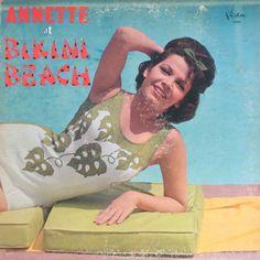 Annette (7) - Annette At Bikini Beach (Vinyl, LP) at Discogs