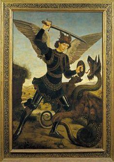 St. Michael Archangel by Antonio del Pollaiolo - Bardini Museum - Florence