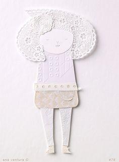 Miss White by ana ventura, via Flickr