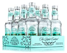 London based Keen and Able creates a joint project for Bloom Premium London Dry Gin and Fentimans 'Botanically Brewed Tonic water: