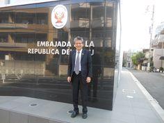 ペルー大使館を訪問