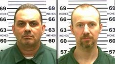 Undated photo released by the New York State Police shows from left David Sweat and Richard Matt who escaped from the Clinton Correctional Facility in Dannemora. New York State Police via AP Prison Escape, Prison Break, Bbc News, Used Power Tools, Reportage Photo, Upstate New York, David, Dna, Crime