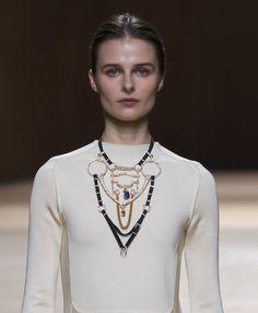 Le collier harnais haute bijouterie d'Hermès