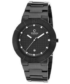 Obaku V140G The World's Slimmest Sport Watch V140GBBSB - http://www.specialdaysgift.com/obaku-v140g-the-worlds-slimmest-sport-watch-v140gbbsb/
