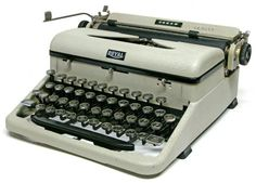 this is pretty close to the one I have. An official U.S. Navy WWII typewriter. I imagine secretaries transcribing Nazi code breaks, condolence letters to families, and military plans. The history comes alive.