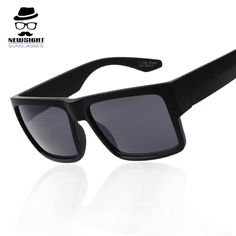 High Quality American Famous Brand Square Sunglasses Men Vantage Sun Glasses Eyewear gafas oculos de sol masculino