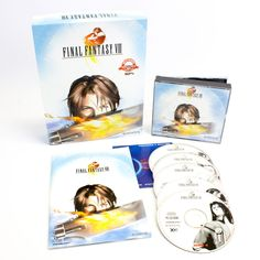 Final Fantasy VIII for PC by Square Co, 1999, Big Box,  Fantasy, Real-Time, RPG