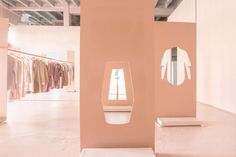 designbinge:     Scandinavian clothing retailer COS pop-up designed by Snarkitecture