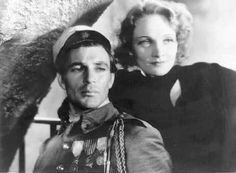 Gary Cooper and Marlene Dietrich in Morocco ~ 1930