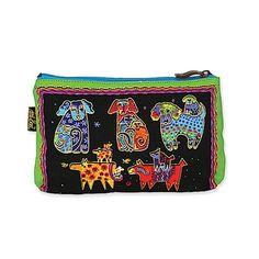 Amazon.co.jp: [ローレルバーチ] LAUREL BURCH デザイン ミニバッグ コスメティックバッグ 化粧ポーチ DOG TALES Cosmetic Bags E: シューズ&バッグ