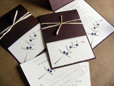 Unique Alternative To A Traditional Pocket Style Invitation