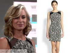 The Young & the Restless: Nov 2014 Ashley's Paisley Print Dress
