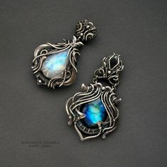 two pendants by KL-WireDream on DeviantArt