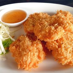 Prawn cakes,Thai food