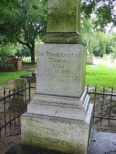 grave of Mirabeau B. Lamar - 2nd president of the Texas Republic