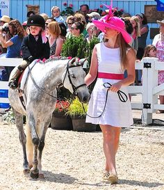 Devon Horse Show lead line. Ok I'll get my kid a pony if we go to Devon and look like this @kelly jensen!