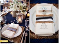 Executive Party Re-work for Christmas theme dark blue wedding table setting Wedding Table Flowers, Wedding Table Settings, Wedding Centerpieces, Wedding Cards, Wedding Decorations, Our Wedding, Table Wedding, Place Settings, Trendy Wedding