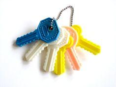 Vintage Baby-- Keys Rattle