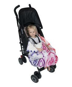 Take a look at this Pink Ikat Adventure Stroller Blanket by Weegoamigo on #zulily today!