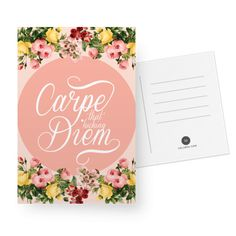 Cartão Carpe F* diem de @karenrulez | Colab55