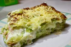 Lasagna, Cabbage, Menu, Pasta, Baking, Vegetables, Breakfast, Ethnic Recipes, Quiches