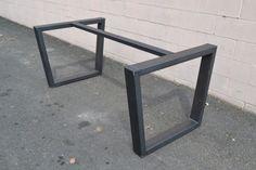 tavolo in ferro brunito e legno - Cerca con Google