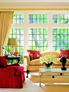 Eye For Design: Decorating With Camelback Sofas