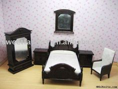 Dolls house furniture wooden toys; doll house furniture toys Package ...  hkb2bsite.com