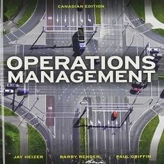 Below are 68 Free Test Bank for Operations Management Canadian Edition 1st Edition Heizer multiple choice questions for your practical exam preparation. If you are looking for a new study method to learn deeply the concepts and different topics around operation management, let's enjoy these 68 best operation management test bank questions in order to check your knowledge and prepare well for your coming examination.