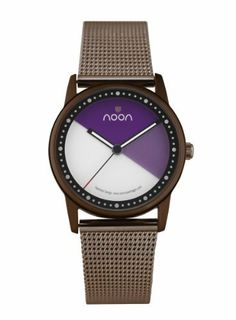 noon copenhagen Women's 45-005M7 Watch noon copenhagen. $75.11. Round face; Silver mesh band. Water resistant to 50 meters. Water-resistant to 165 feet (50 M). Signature spinning disc face. High torque japanese movement