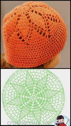 Exceptional Stitches Make a Crochet Hat Ideas. Extraordinary Stitches Make a Crochet Hat Ideas. Easy Crochet Hat, Crochet Beanie Hat, Crochet Cap, Crochet Diagram, Crochet Baby Hats, Crochet Motif, Crochet Crafts, Crochet Clothes, Crochet Stitches