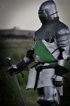 Knight in green and white by Georgina-Gibson on DeviantArt