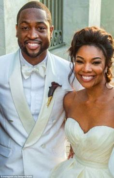 Dwayne wade and gabrielle union exclusive wedding photos by people gabrielle union and dwayne wade junglespirit Choice Image