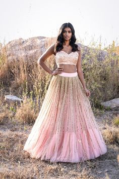A Baby Pink Color Embroidered Fully Designer Lehenga Choli Designer Bridal Lehenga, Bridal Lehenga Choli, Wedding Sarees, Wedding Outfits For Groom, Best Wedding Dresses, Bridal Dresses, Bridal Outfits, Wedding Gowns, Prom Dresses