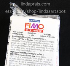 Fimo Mix Quick, by Staedtler, Polymer Clay softener, improve hard, or crumbly polymer clay.