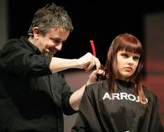 Nick Arrojo master stylist/ razor cutting
