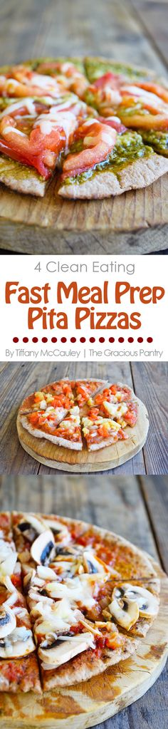 Clean Eating Recipes |Meal Prep Meals | Pizza Recipes | Healthy Pizza ~ https://www.thegraciouspantry.com