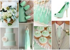 #boda #menta #decoración #ideas