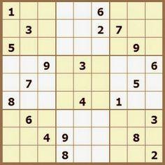 Pasatiempos para Imprimir: Sudoku nº 138