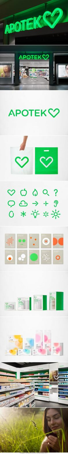 Brand ID design for Apotek Hjärtat