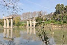 """RECOVERY OF  BAILEY BRIDGE PYLONS- DESIGN PROPOSAL  VIA DI TOR DI QUINTO, ROME    DESIGN 2011  CONCORSO DI IDEE """"PREMIO VOCAZIONE ROMA"""" – PROGETTO VICITORE"""