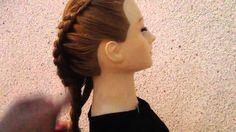 Dutch Flower Braid , Flower Bun ,Hair Updo Hairstyles荷蘭花卉編織|高髻الهولندية ...