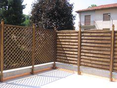 grigliati legno terrazzo - Cerca con Google | Balcone | Pinterest ...