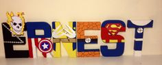Marvel inspired character letters . www.facebook.com/missylissyletters
