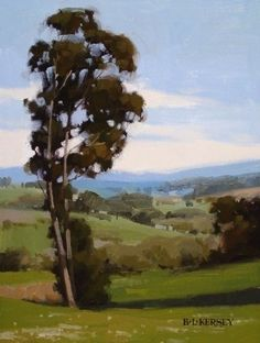 Green Valley by Laurie Kersey Oil ~ 12 x 9