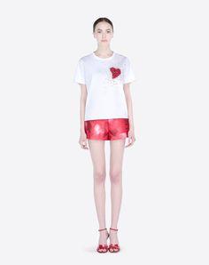 Valentino hearts shorts